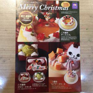 クリスマスケーキ受付開始しました!!
