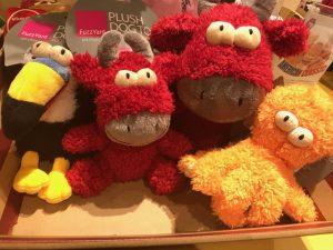 見た目も楽しい、『FuzzYard』のおもちゃ!!
